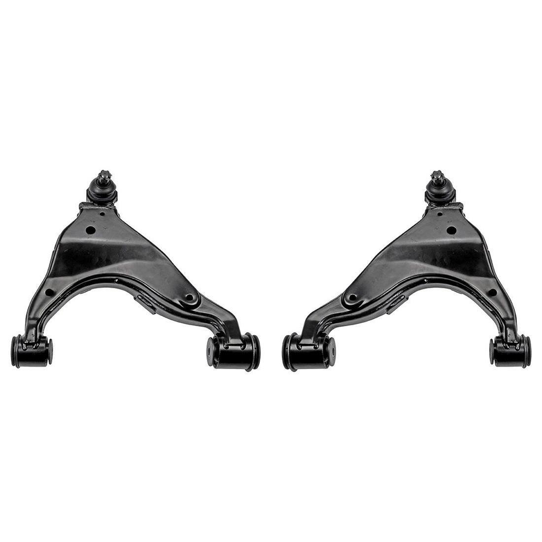 Front Lower/&Upper Control Arms w// Ball Joints for 2005-2014 2015 Toyota Tacoma